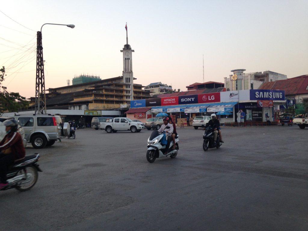 バッタンバン市街地