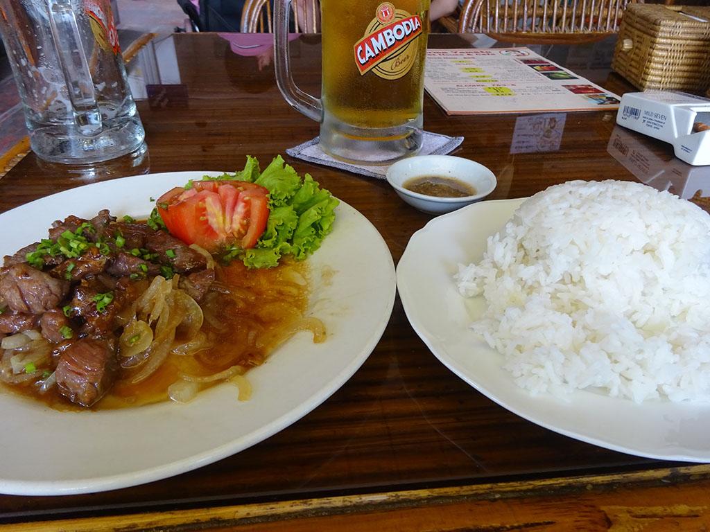 ルックラック・サイコー カンボジア料理